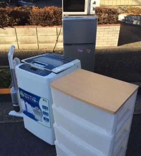 江戸川区 洗濯機 衣装ケース