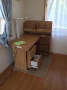 松戸市で学習机の回収
