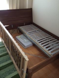 江戸川区でベッドの解体回収処分